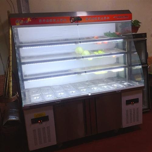 刚买两个多月的麻辣烫专用柜,长度一米八,电话13561516907