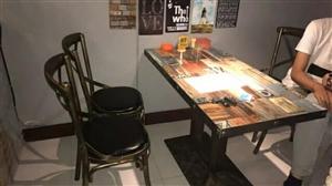 求购类似的二手桌椅。。有卖的通知一下