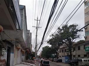 电线杆线路过低