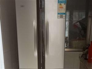 双门冰箱九成新,买了不到一年1200转手