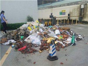�Q山市商��中心后面垃圾堆�e如山,臭��_天,招蚊野�,