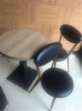 低价转让桌椅板凳、牛角椅.高把椅.餐桌