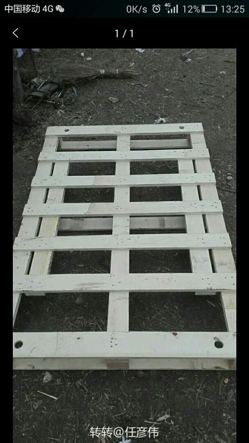 木托盤,光伏用的,可以做抬板。長1.7米高0.145米寬1.15米重45斤左右電話135989075...