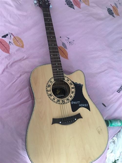 Swift horse 吉他 9新    买来没弹超过十次  原价580 适合新手练琴 便宜转 ...