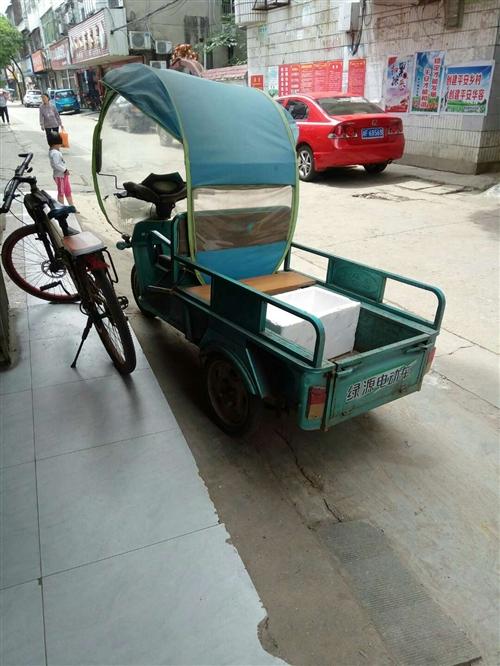 电动三轮车,八成新,饭店买菜用的。优价转让。