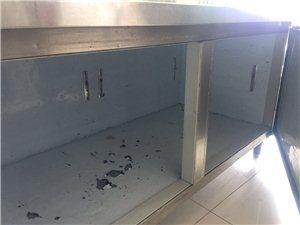 饭店用的冰柜9成新,低价出售,需要打电话