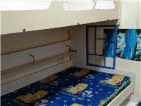 上下铺高低学生床半新,长2米,宽1.5米,高1.6米,因为上大学家中无小孩使用,所以低价处理此床,有...