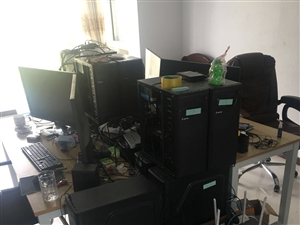 电脑主机700一台(仅剩一台)电脑交换机一套,面议论