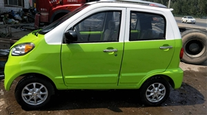 纯电动汽车,四轮四开门,有暖气倒车影像。一次充电跑150公里。买时一万五,2018年八月二十九号买的...