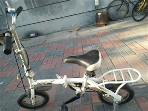 跑狼自行车,可折叠,可调节大小,9成新,闲置处理给有需要的人。