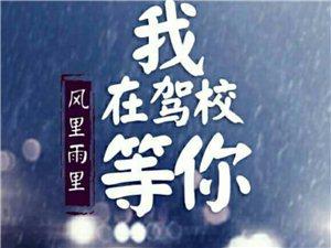 荣庆驾校学大车优惠活动开始了