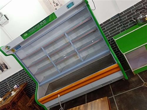 莹雪电器,保鲜冷冻展示柜,宽80长两米,
