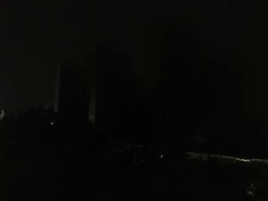 路灯开晚了