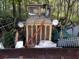 废铁价出卖两辆拖拉机