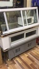 九成新展示柜,冷藏冷冻两用,价格面议。