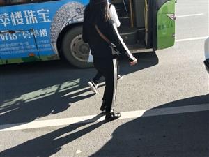 占公交车道