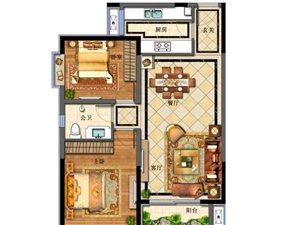 蔚蓝港湾2室 1厅 1卫40万元