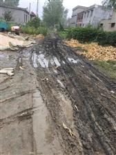 灵璧县高楼镇张潼村冯庄二组西头道路泥泞,请为农民们铺一条回家的路
