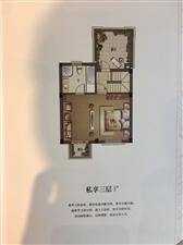 安吉龙山庄园法式风格联排别墅,总价290万起,195平产证面积,使用面积300平左右,