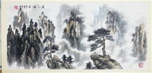 李树军国画山水册页14幅