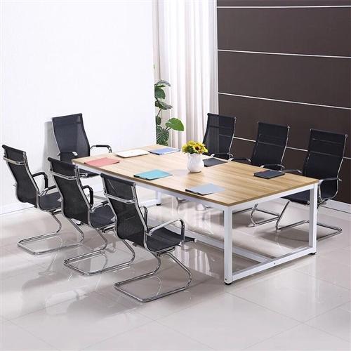出9.5成新3米乘以1.2米办公会议桌,400元