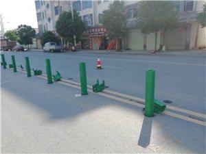 �{水公路新村段安装护栏问题