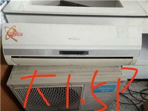 出售八,九成新二手空调大1.5p和3p,洗衣机。