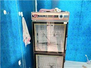 一个消毒柜,一个绞肉机,一个冰柜,还有一个展示柜,九成新,有需要的面谈