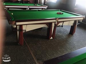 处理台球桌。共7台  九成新 价格可小刀 联系电话 15822928858