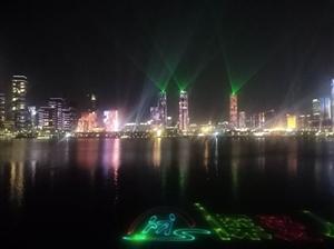 深圳40周年煊丽夺目的灯光秀,作品拍摄者yang俊★