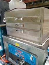 九成新宗申电动三轮车可跟肠粉机分开岀售,肠粉机效果很好,一抽一份。薄,滑