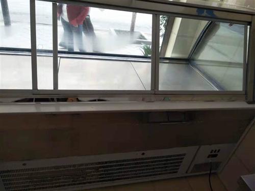 8成新的冰柜,收银机。低价出售~~