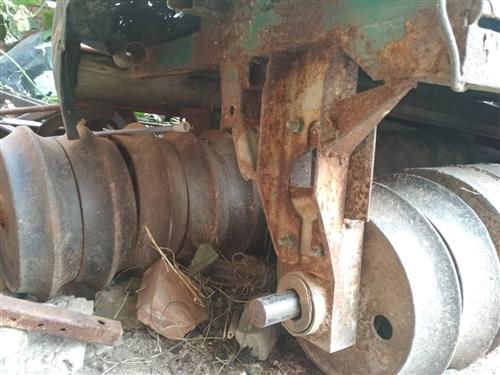 24馬力拖拉機帶駕駛室維坊維龍,14片大號鎮壓器和播種機一樣寬,鎮壓小麥之神器,