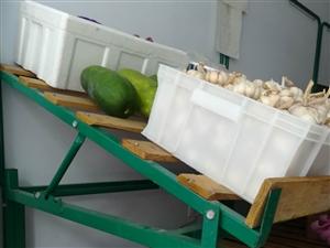 九成新卖菜、水果用的货架子,高低三挡可调,方便实用,联系电话13153638609