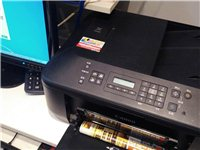 此打印機(打印/復印/掃描/傳真)正常使用中,9成新,因想換彩色激光打印機,所以出售。最好同城交易,...