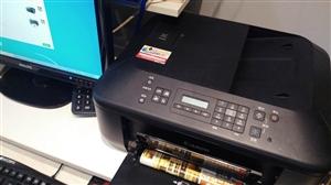 此打印机(打印/复印/扫描/传真)正常使用中,9成新,因想换彩色激光打印机,所以出售。最好同城交易,...