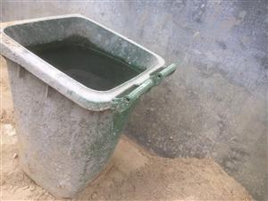 垃圾桶被私人占用
