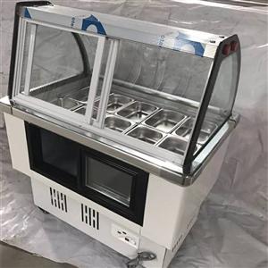 冰粥,双皮奶冰柜,买来时花了1300,现在800转,用了2个月,可以当保鲜和速冻用