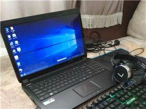 自用笔记本电脑,配置详情鲁大师检验看图片,速拆后盖,win10系统,双显卡,办公影音大屏,键盘耳机图...