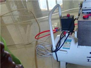 专业清洗地热客,更换分水器