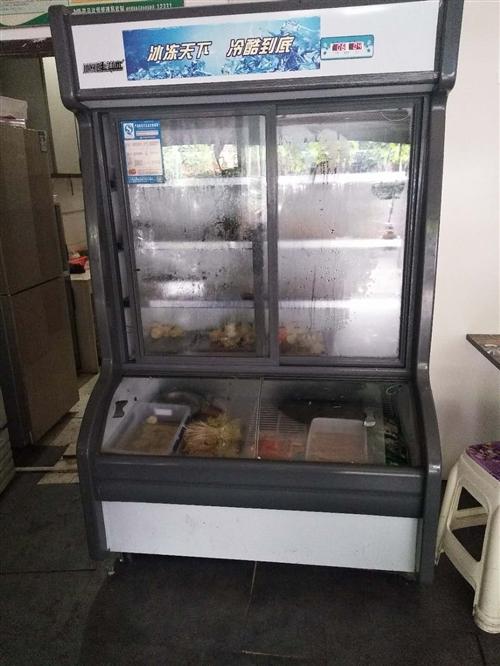 展示柜,冰柜,冰箱轉讓,麻辣燙店整體裝讓