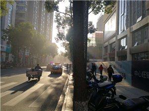 江华城严重扬尘污染