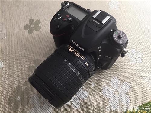 尼康D7100相机 相机是前年买的,买来也就用了两次吧拍了不到三十张照片,自己不会用放那闲置也可惜了...