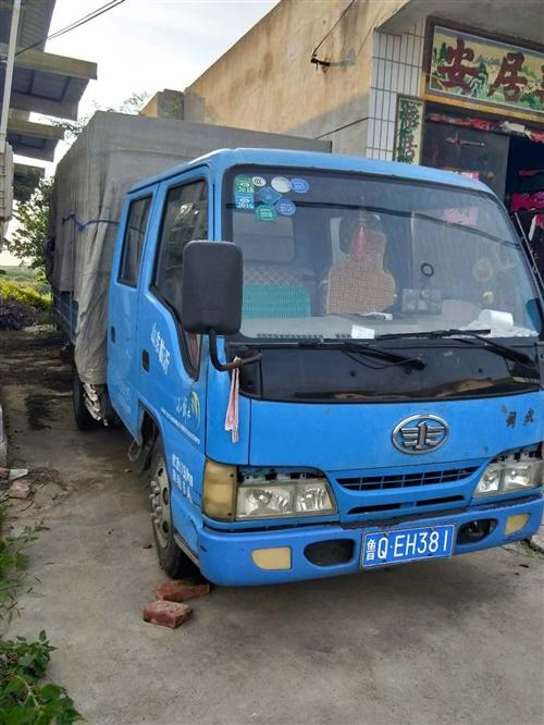 2011年双排座解放牌轻型卡车出售,大柴498发动机,行驶里程13万公里左右,车况良好,无事故!有意...
