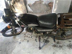 豪爵钻豹摩托车