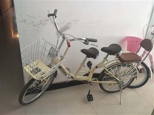 可以带两个宝贝的自行车,特别好骑,轻便灵活!自己配的车筐,八成新!我的宝贝大了,骑不了了,放着浪费!