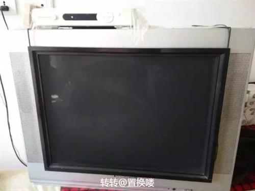 适合出租房 老式21寸电视 自家用的 显像清晰 低价处理  取货地点:铁锋区政务服务中心附近