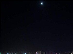 大宝坻美丽的夜景