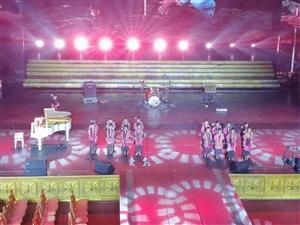 """中国海南东方""""姑娘果""""黎族童声合唱团惊艳三亚""""一带一路""""国际音乐会"""