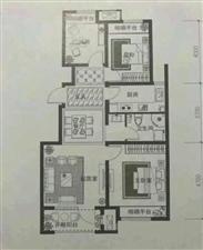 孔雀城七期泊心园3室 2厅 1卫160万元